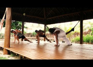Capoeira Session im Surfcamp