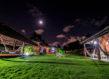 Bahia Surfcamp mit Sternenhimmel