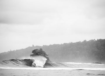Uncrowded Surf Session in Indonesia