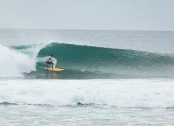 Uncrowded Surfspot beim Molukken Boat Trip