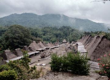 Traditionelles Dorf in Nusa Tenggara