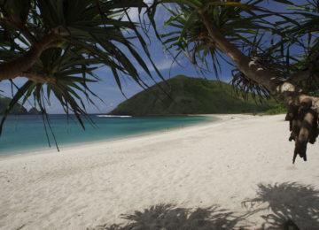 Weisser Sandstrand auf Lombok