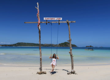 White Beach Lombok Indonesien