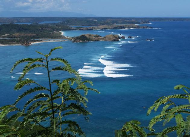 Surfspots an Lomboks Südküste