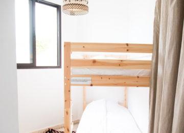 Schlafzimmer mit Hochbetten
