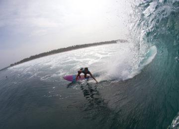 Bottom Turn in den Mentawais
