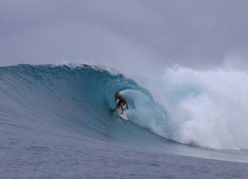Barrel Surf in Banyak Islands