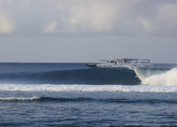 Barrel with Mentawai Surf Charter