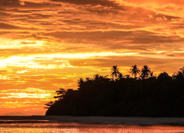Mentawai Sonnenuntergang