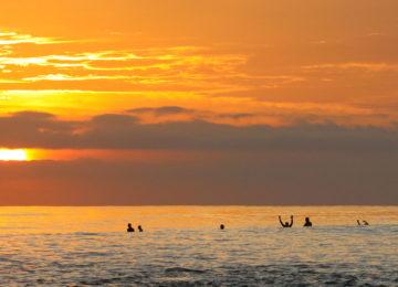 Sunset Surf Session Mentawais