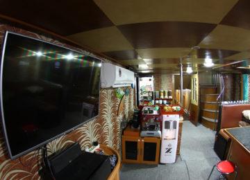 Mentawai Surf Boat Innenraum