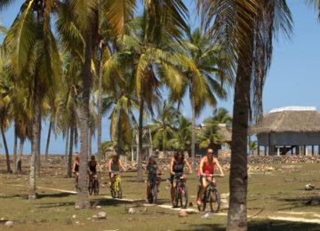 Bike Trip on Red Island