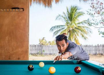 Billiards at Nemberala Beach Resort