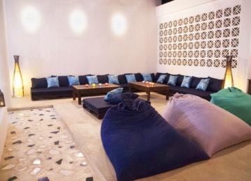 Sitzecke im Riad Masaya