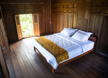 Doppelzimmer im Mahi Mahi Resort Simeulue