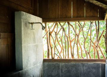 Badezimmer im Mahi Mahi Resort