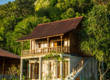 Bungalow auf Simeulue in Sumatra