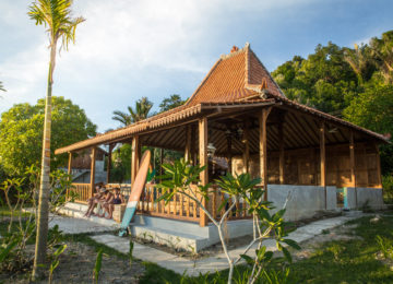 Bungalow Unterkunft Simeulue Island
