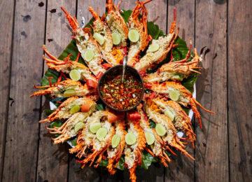 Scampi Snack Simeulue Indonesien