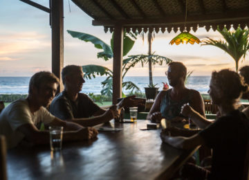After Surf Beer at Eco Surf Resort Simeulue