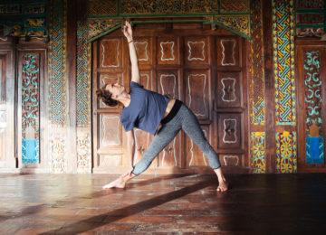 Yoga im Mahi Mahi auf Simeulue