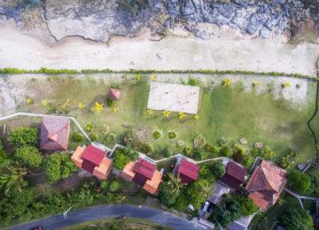 Vogelperspektive auf das Mahi Mahi Resort