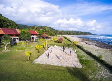 Paradiesisches Beach Resort auf Simeulue
