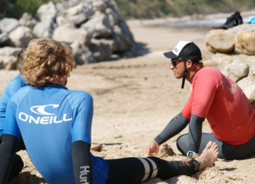 Surf Coach explains the theory