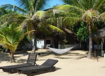 Beach Bungalow with Hammock in Arugam Bay