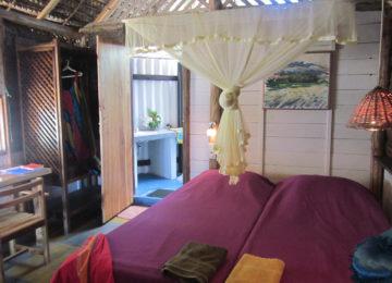 Beach Cabana with outdoor bathroom