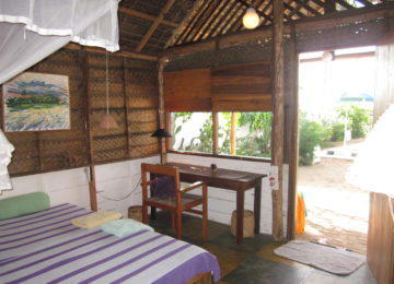 Beach Cabana with direct access to the beach
