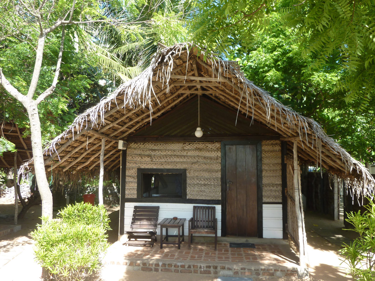 Exterior view of Beach Cabana in Arugam Bay