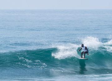 Sri Lanka Surfer in Mirissa