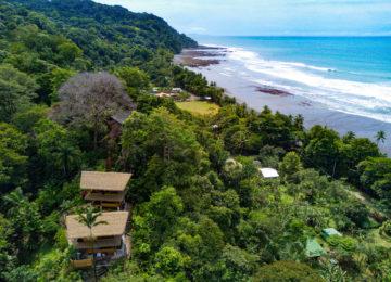 Bird's eye view of Sola Vista Eco Lodge