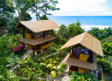 Two Beach Bungalows in Pavones