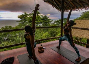 Yoga Lesson at Sola Vista Eco Lodge