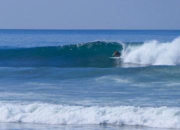 Barrel Surfing in Pavones