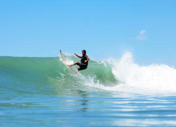 Sudden Rush Surfers in Costa Rica
