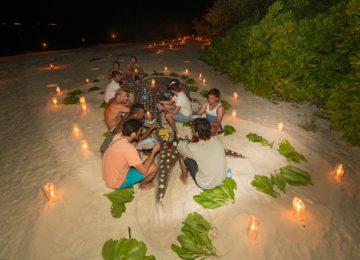 Night Dinner on the Beach