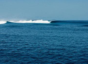 Uncrowded Maldives Surf spot