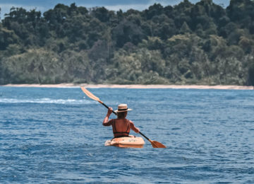 Kayak Ausflug Mentawais