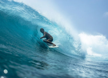 Alex Knost in Barrel