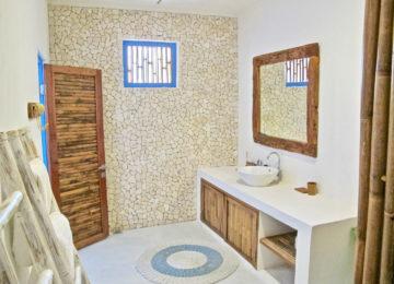Badezimmer im HTS Resort