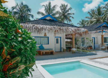 Mentawai Bungalow mit Pool