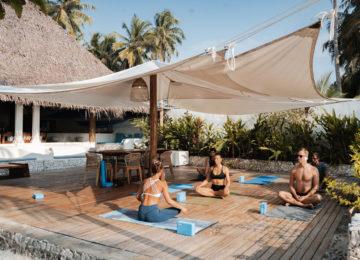 Yoga Session im Resort