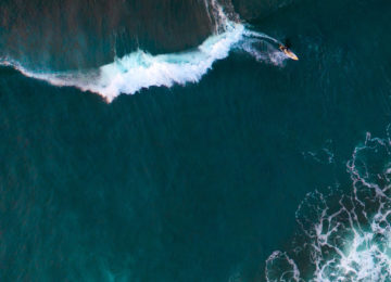 Surf Drone Shot Azores