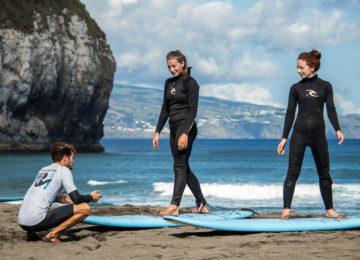 Surfkurs mit Joao