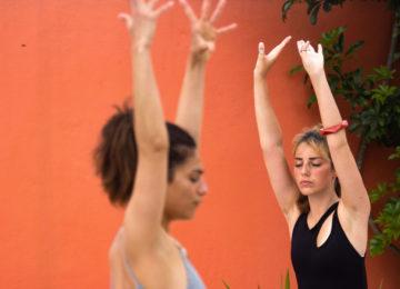 Yoga im Surfcamp