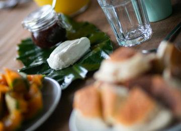 Frühstück Azoren Surfcamp