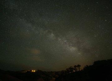 Sternenhimmel auf den Azoren